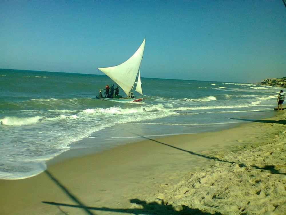 O mar é muito presente em Fortaleza